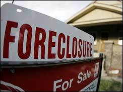 Finance Foreclosures