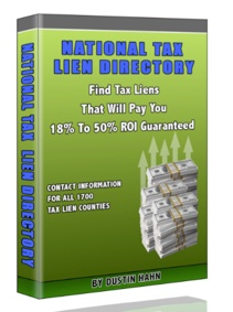 National Tax Lien Directory